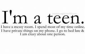 teen sayings on Tumblr