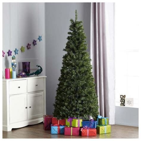 buy tesco 6 5ft evergreen slim pop up christmas tree from