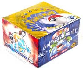 wotc pokemon base set 1 booster box 1st edition