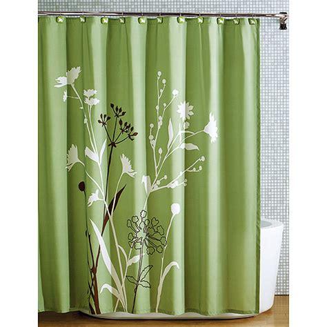 Bathroom Curtains At Walmart by Hometrends Marmon Shower Curtain Walmart