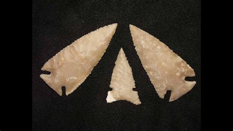 making arrowheads  texas flint youtube