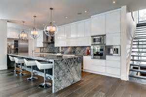 kitchen islands canada marble island breakfast bar kitchen lighting contemporary house in toronto canada