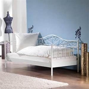Lattenrost 90x200 Dänisches Bettenlager : metallbett 90 200 wei ~ Bigdaddyawards.com Haus und Dekorationen