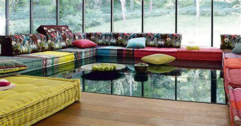 canapé roche bobois mah jong roche bobois stylish and functional mah jong modular sofas