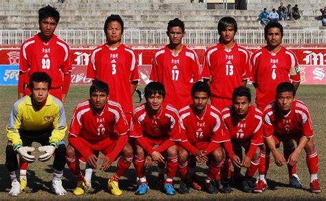 nepali football team photo