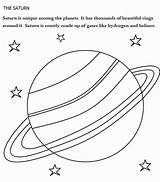 Saturn Coloring Planet Planets Printable Uranus Sheet Drawing Pintar Gas Saturno Liquid Jupiter Colorear Solar System Solid Colorir Dessin Clipart sketch template