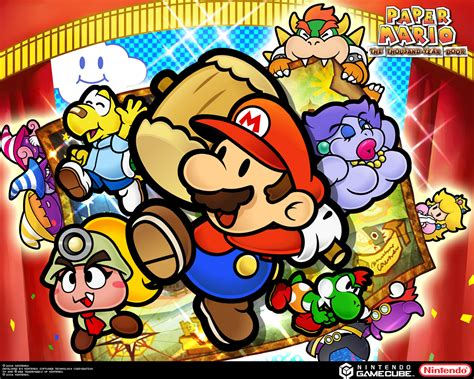 Tmk Downloads Images Paper Mario The Thousand Year