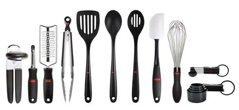 oxo kitchen accessories oxo 17 pc everyday kitchen tool set 1357
