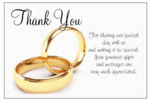 thank you wedding notes show gratitude to your loved ones with thank you cards