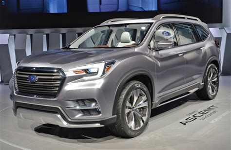 subaru ascent 2020 2020 subaru ascent changes exterior interior engine