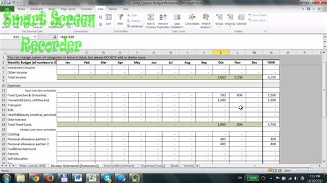 free finance spreadsheet how to use free household budget spreadsheet in excel