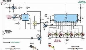 Automatic Headlight Reminder Circuit Diagram