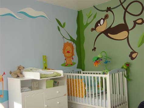 deco de chambre de bebe déco de chambre bébé jank artiste peintre decorateur