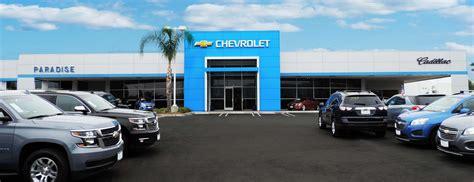 Paradise Chevroletcadillac  Temecula Valley Auto Mall