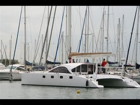 Catamaran Translation In English by Class 4 Catamaran By O Yachts Guided Tour Video In English