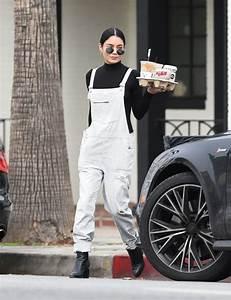 Vanessa Hudgens Cute Outfit - Geting Coffee in LA 1/3/ 2017