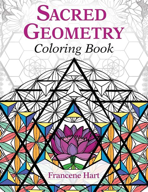 sacred geometry coloring book book  francene hart