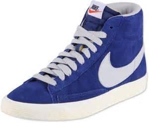 Blue Nike Blazer High Vintage