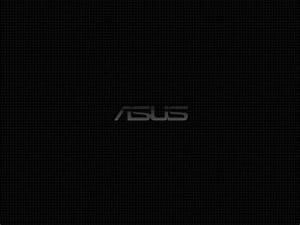 Download 320x240 Asus Black Background Logo wallpaper