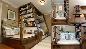 Awesome Bunk Bed Design - iCreatived