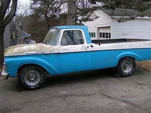 61 63 Ford Unibody Pickup For Sale