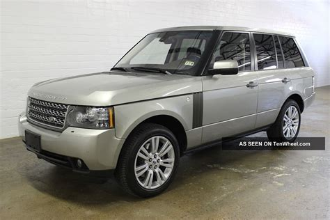 land rover 2010 2010 land rover range rover hse lux pkg heated cooled