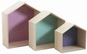 Etagere Maison Bois : maison etagere bois ~ Teatrodelosmanantiales.com Idées de Décoration