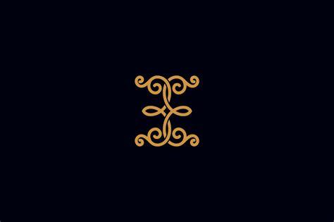 monogram luxury logo logo templates creative market