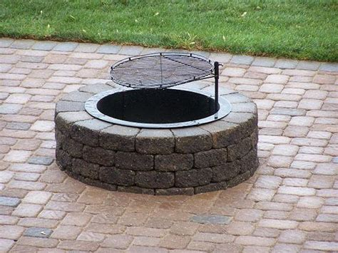 braai pit designs in ground fire pit risks and tips homesfeed