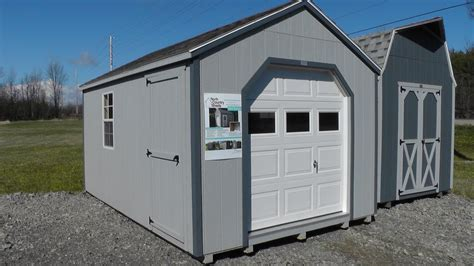 Garage Storage Shed by 10 X 16 Portable Garage Shed Atv And Motorcycle