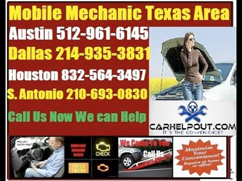 mobile auto mechanic texas pre purchase foreign car