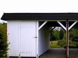 Carport Verkleidung Kunststoff : carport in bremen mit schwarzen schindeln schindeln dachziegel fassadenplatten aus kunststoff ~ Frokenaadalensverden.com Haus und Dekorationen