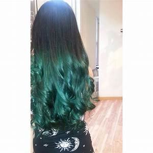 Turquoise ombre by Mandy Taylor - Salons Direct