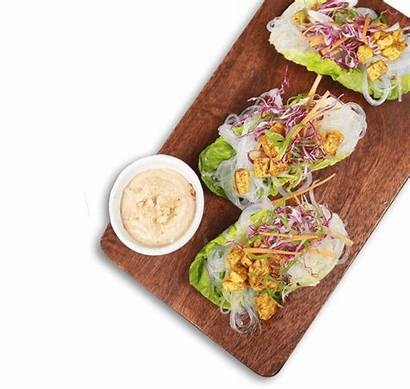 Tofu Lettuce Cups Satay Without