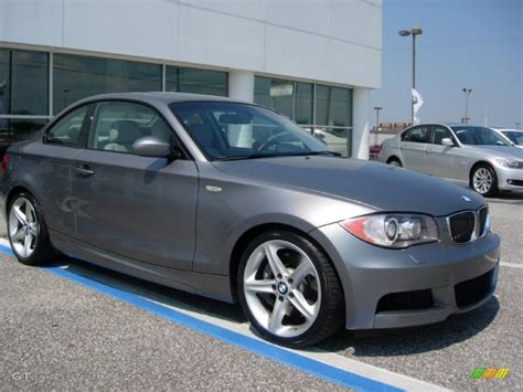 Bmw Space Grey by 2009 Space Grey Metallic Bmw 1 Series 135i Coupe 53980783