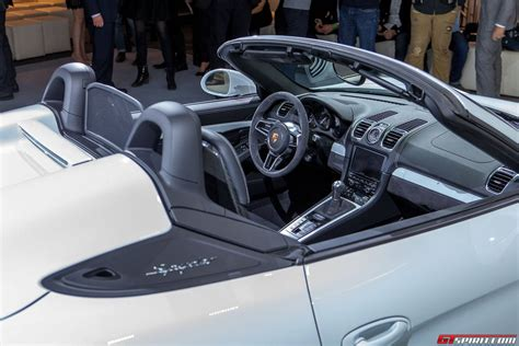 porsche boxster 2016 interior 2016 porsche boxster spyder review specs and price 2018
