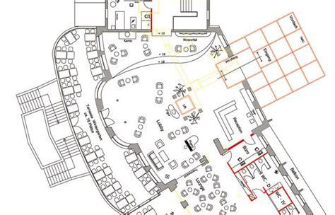 log floor plans hotel plan lobby