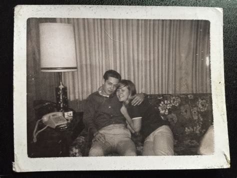 Polaroids Of Snogging At A 1960s Make Out Party Flashbak