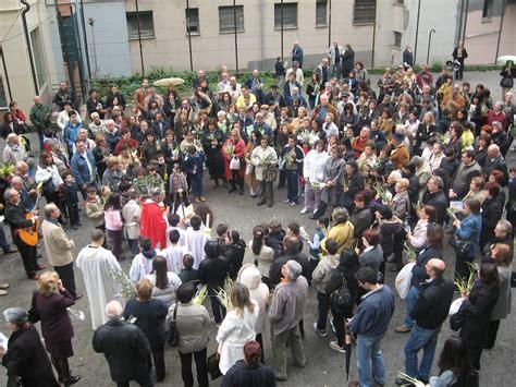 ingresso di gesù a gerusalemme 2009 aprile parrocchia san giuseppe al lagaccio
