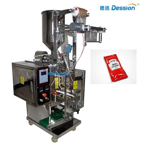 automatic tomato sauce ketchup sachet filling packing machine supplier automatic food packing