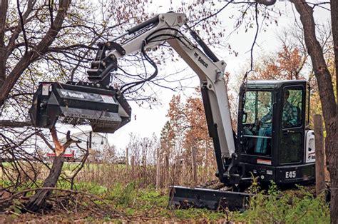 understanding brush cutters  flail mowers  compact excavators