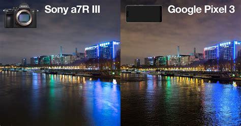 google pixel   sony ar iii   light shootout