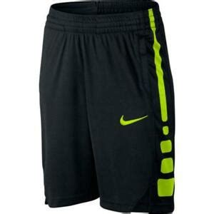 nike boys elite stripe basketball shorts   black