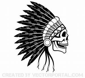 Indian Skull Clipart