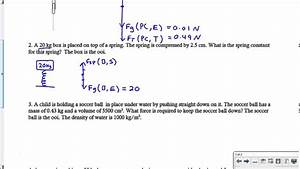 Quantitative Force Diagrams With Force Equations
