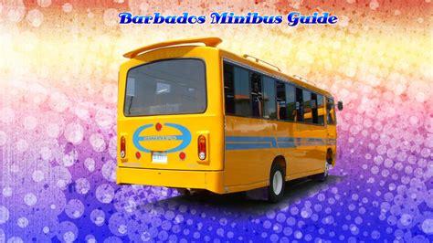 barbados minibus guide gallery