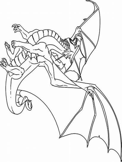 Coloring Pages Dragons Animals Dragon Printable