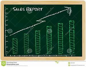 Sales Report Royalty Free Stock Image
