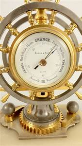 Antique, French, Industrial, Nautical, Desk, Clock