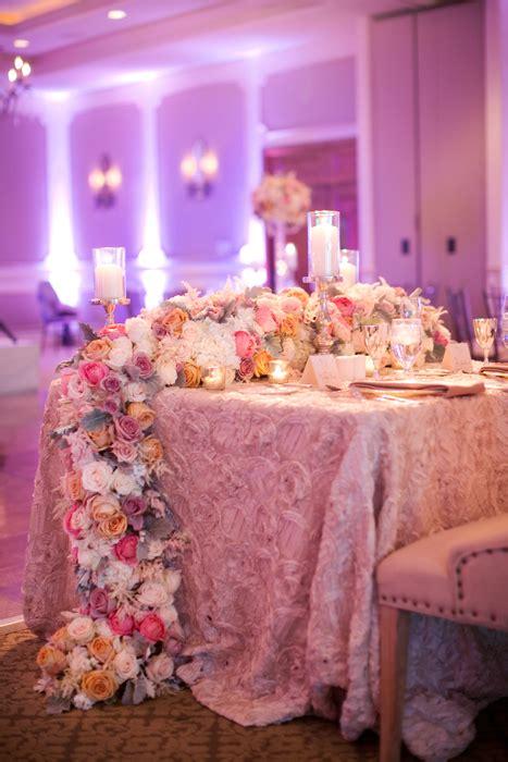 Fuchsia Pink Ballroom Wedding From Melissa Jill Photography